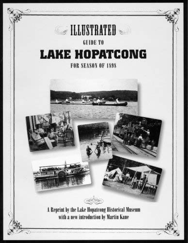 9780971831902: Illustrated guide to Lake Hopatcong for season of 1898