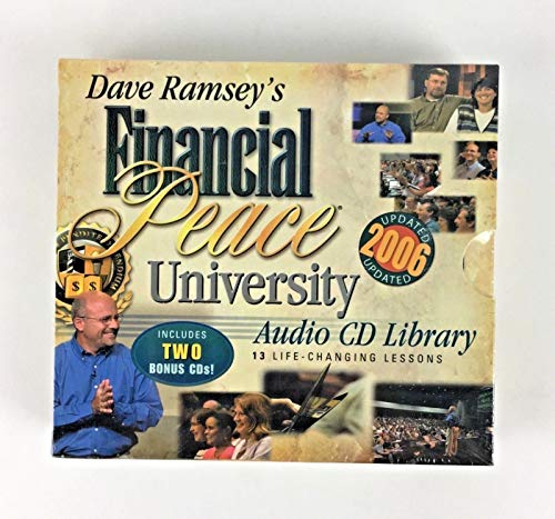 9780971855489: Dave Ramsey's Financial Peace University Audio CD Library: 13 Life Changing Lessons