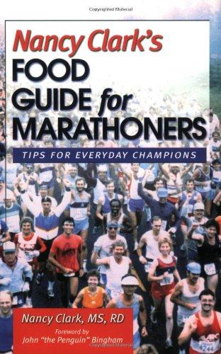 9780971891104: Nancy Clark's Food Guide for Marathoners