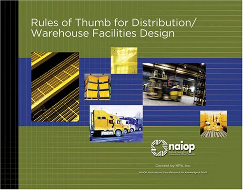 9780971895546: Rules of Thumb for Distribution/Warehouse Facilities Design