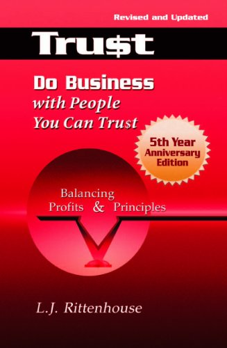 9780971935624: Do Business with People You Can Trust: Balancing Profits and Principles - Fifth Anniversary Edition