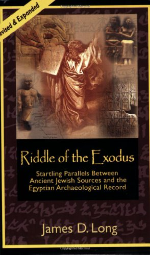9780971938878: Riddle of the Exodus: Startling Parallels Between Ancient Jewish Sources and the Egyptian Archaeological Record