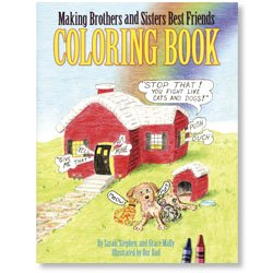 9780971940550: Making Brothers and Sisters Best Friends Coloring Book