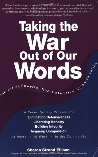 Taking The War Out Of Our Words: Sharon Ellison,