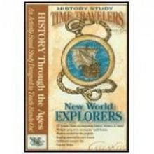 9780972026574: Time Travelers Series NEW World Explorers Cd (Time Travelers History Study Series)