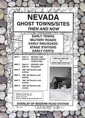 Nevada, Ghost Towns, 6;Map Set Then Now
