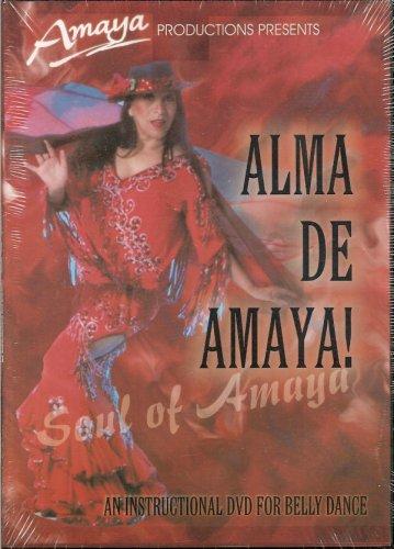 9780972062305: Amaya: Alma de Amaya -Belly Dance Instruction Video DVD