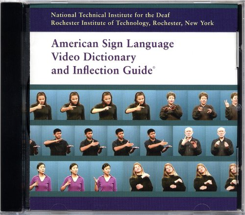 9780972094207: American Sign Language Video Dictionary and Inflection Guide (CD-ROM) by Rochester Institute of Technology Nation (2000-05-03)