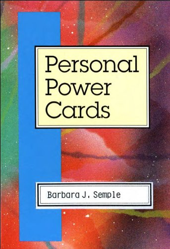 9780972118118: Personal Power Cards