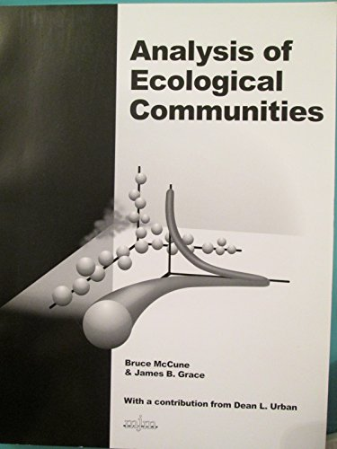9780972129008: Analysis of Ecological Communities