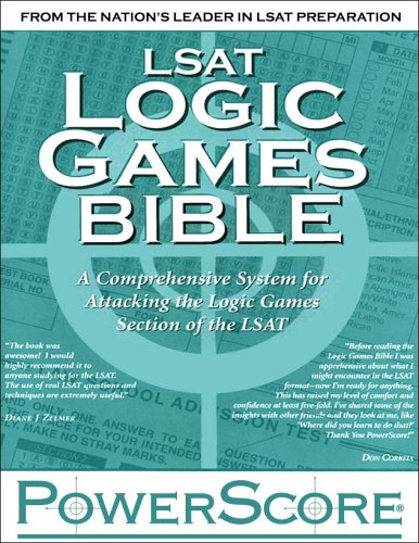 9780972129602: LSAT Logic Games Bible: A Comprehensive System for Attacking the Logic Games Section of the LSAT