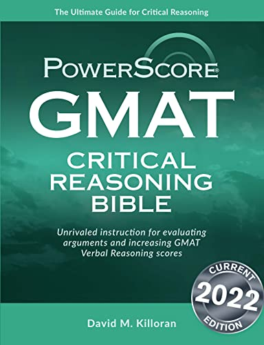 9780972129633: GMAT Critical Reasoning Bible: A Comprehensive System for Attacking the GMAT Critical Reasoning Questions
