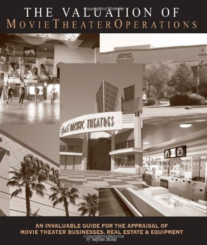 9780972133012: The Valuation of Movie Theater Operations: an Invaluable Guide for the Appraisal of Movie Theater Businesses, Real Estate and Equipment