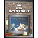 9780972133180: Teen Entrepreneur : An Integrated Computer Applications and Entrepreneurship Simulation