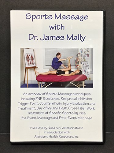 9780972138024: Sports Massage with Dr James Mally
