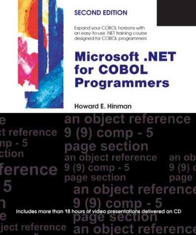 9780972157315: Microsoft .NET for COBOL Programmers, Second Edition