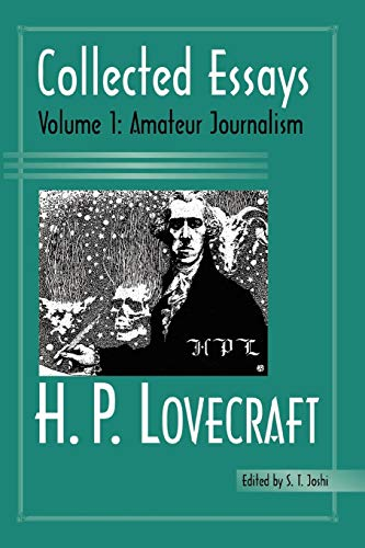 9780972164429: H. P. Lovecraft: Collected Essays : Amateur Journalism: 1