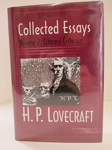 collected essays of h p lovecraft literary  9780972164443 2 collected essays of h p lovecraft literary criticism
