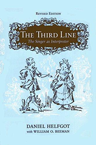 Third Line : The Singer As Interpreter: Daniel Helfgot
