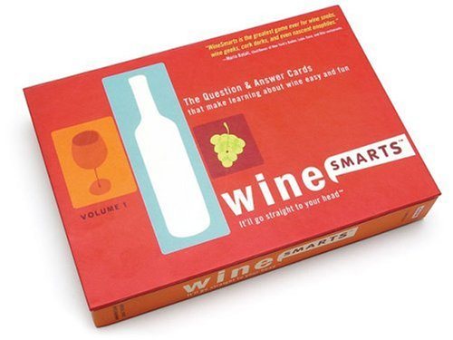 WineSmarts - Volume 1: The Question and Answer Cards that makes learning about Wine easy and fun