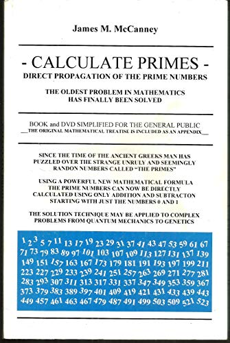 Calculate Primes - Direct Propagation of the: McCanney, James M
