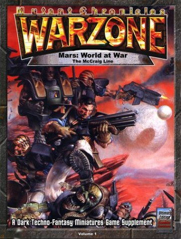 9780972220255: Mutant Chronicles Warzone: The McCraig Line: 1