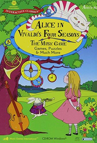 9780972240932: Alice in Vivaldi's Four Seasons: The Music Game