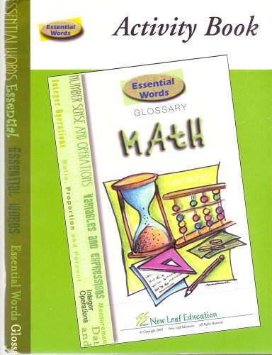 9780972245296: Essential Words Math Activity Book (Word Mastery Series)