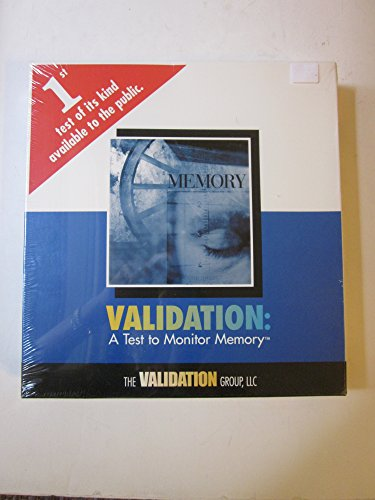 9780972252904: Validation: A Test to Monitor Memory