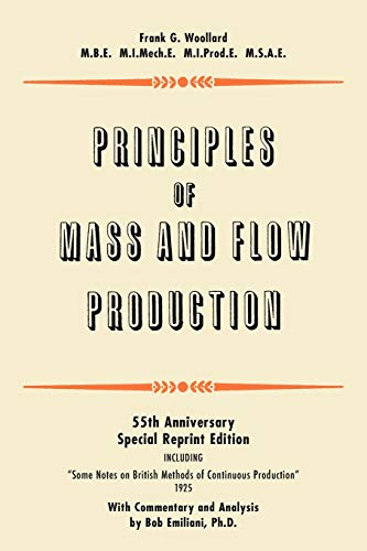 9780972259187: Principles of Mass and Flow Production