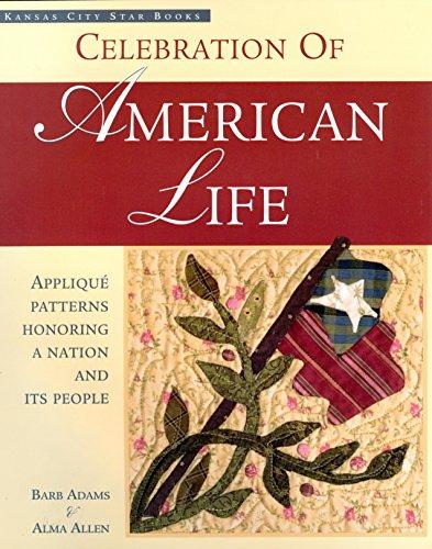 Celebration of American Life : Applique Patterns: Barb Adams; Blackbird