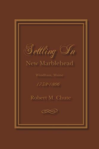 Settling in: Robert M Chute