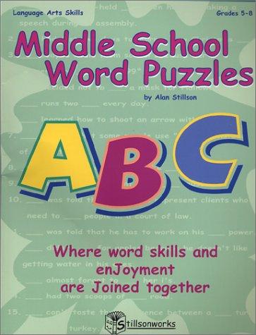 Middle School Word Puzzles: Stillson, Alan