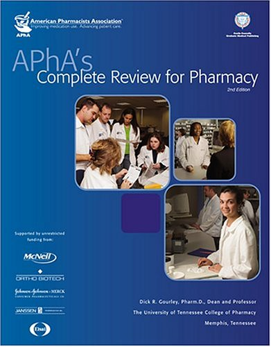 APHA's Complete Review For Pharmacy: American Pharmacists Association