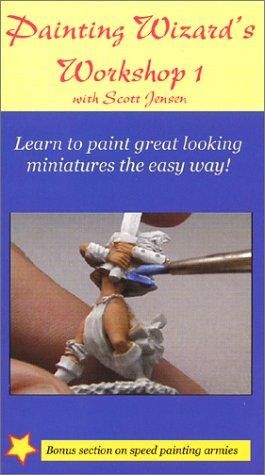 9780972308809: The Painting Wizard's Workshop 1 [VHS]