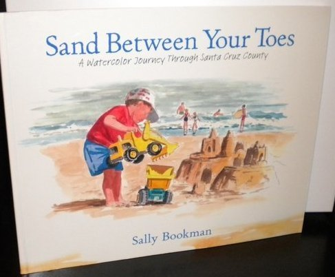 Sand Between Your Toes: A Watercolor Journey