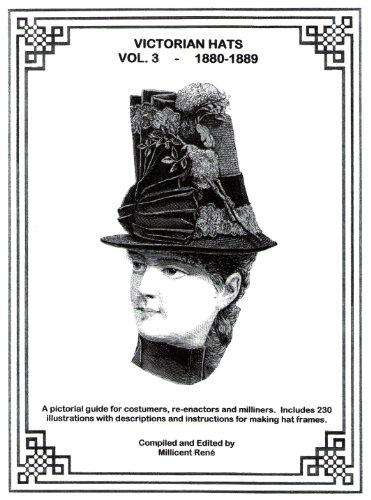 9780972318976: Victorian Hats - Vol. 3 - 1880-1889