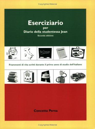 9780972356282: Eserciziario per Diario della studentessa Jean (Italian Edition)