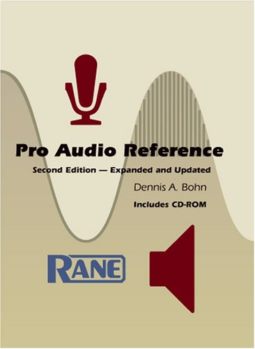 9780972360715: Pro Audio Reference