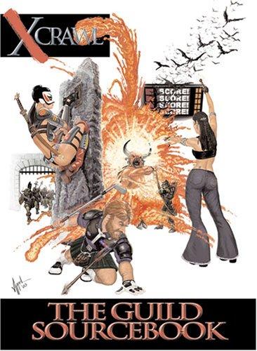 Xcrawl The Guild Sourcebook: Brendan Lasalle
