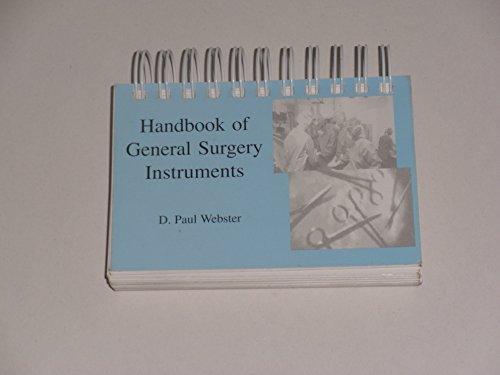 9780972385503: Title: Handbook of General Surgery Instruments