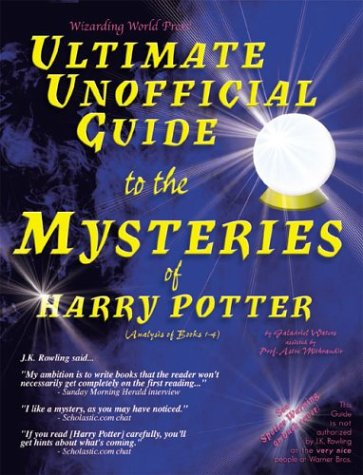 Harry Potter SIGNED By 2 Authors, 1st: by Galadriel Waters