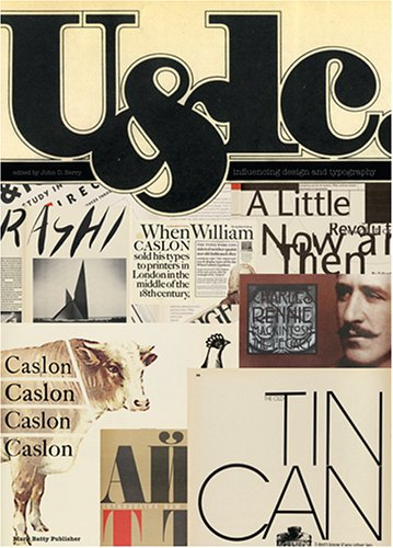 9780972424097: U&lc: Influencing Design and Typography