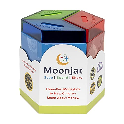 9780972428217: Moonjar Classic Moneybox: Save, Spend, Share