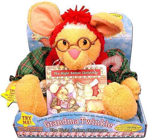 Grandma Twinkle Reads the Night Before Christmas: n/a