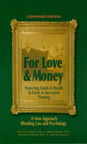 9780972442619: For Love & Money (Condensed Edition)