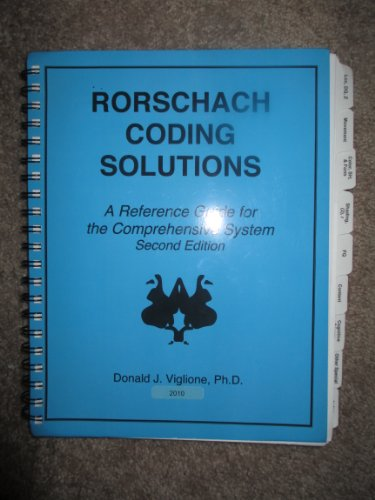 9780972445108: Rorschach Coding Solutions: A Reference Guide for the Comprehensive System
