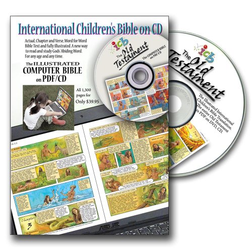 9780972455299: Illustrated ICB Bible, Old Testament on pdf/cd (The illustrated Children?s BIBLE on PDF/CD, series)