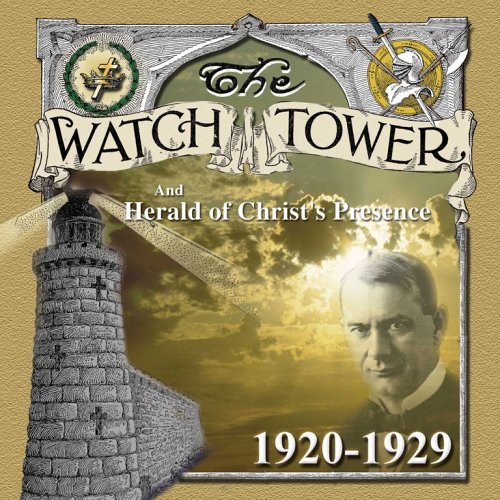 9780972465052: The Watchtower (1920-1929)