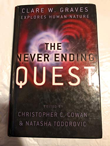 9780972474214: The Never Ending Quest: Dr. Clare W. Graves Explores Human Nature: A Treatise on an emergent cyclica